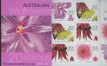 AUS SG SB187 $10 Australian Wildflowers (1st series) Booklet containing SG2534d - 1 Koala reprint
